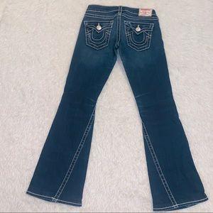 Wide leg big Joey T denim jeans 27 True Religion